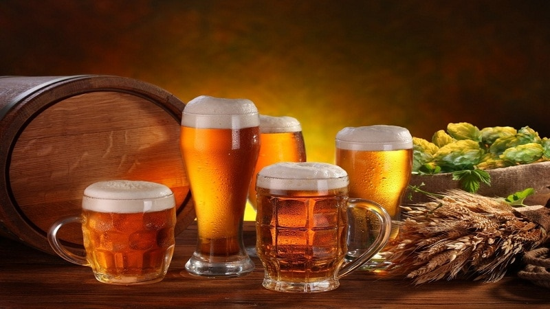 сколько калорий в литре пива