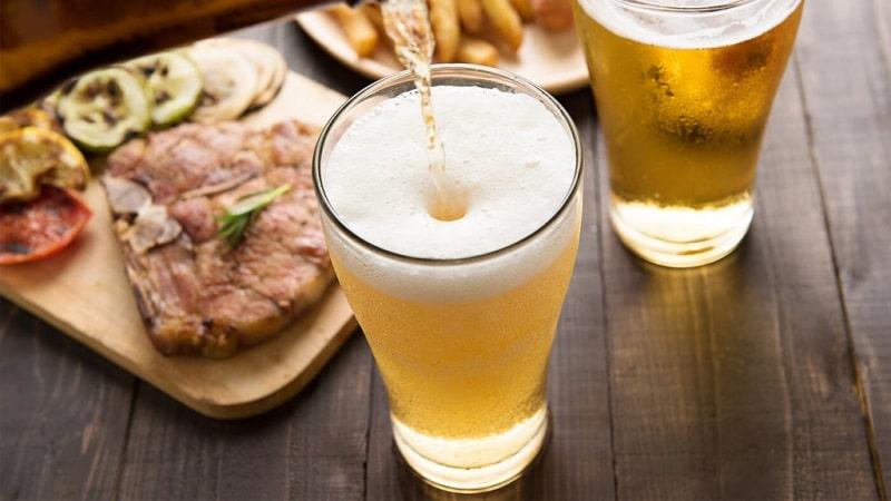 через сколько выветривается 2 литра пива