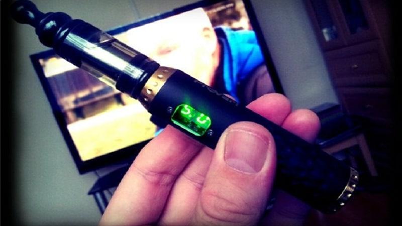 сколько заряжается электронная сигарета
