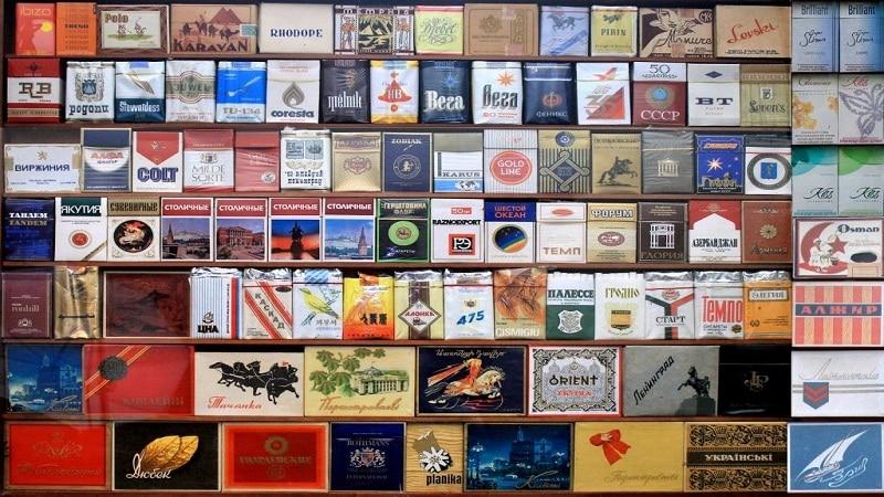 все марки сигарет