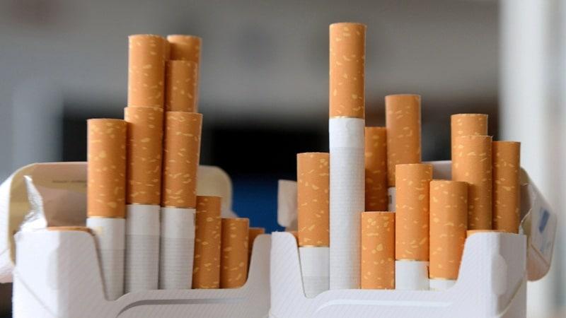 список названий сигарет