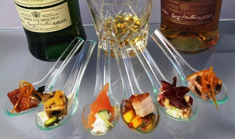 закуска под виски с колой