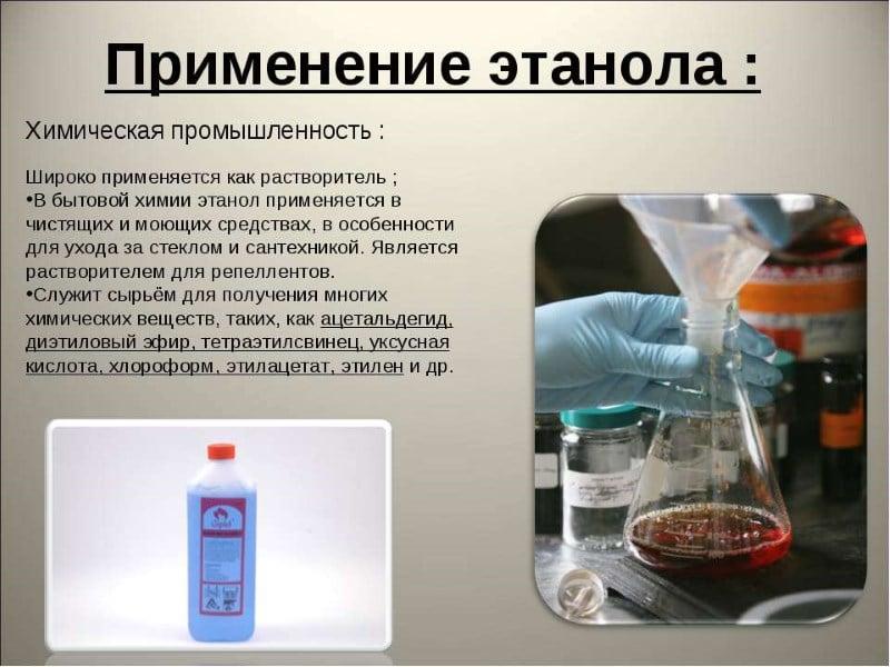 что такое этанол в лекарствах