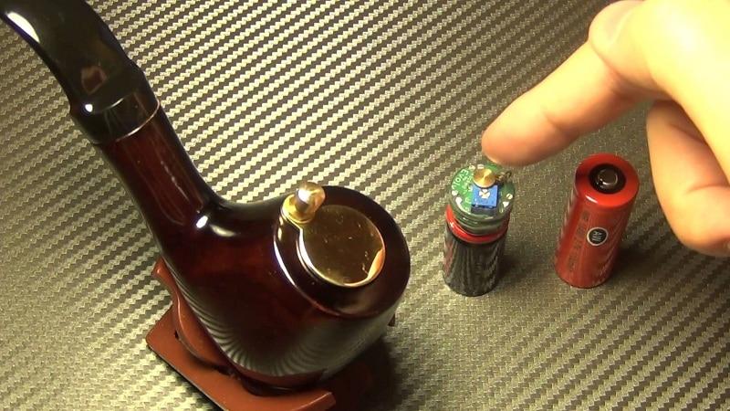 электронная сигарета-трубка