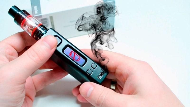 электронная сигарета плохо тянется