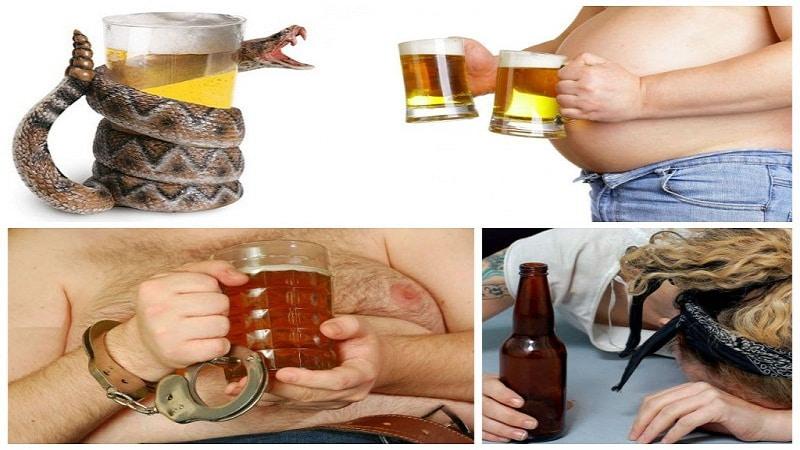 пивной алкоголизм у мужчин симптомы