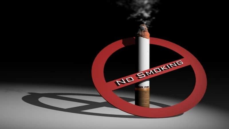 где запрещено курить