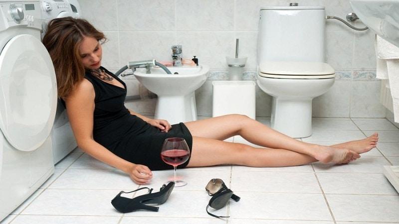 рвота на следующий день после алкоголя