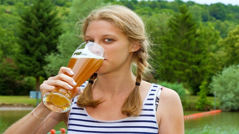 пивной алкоголизм у женщин симптомы