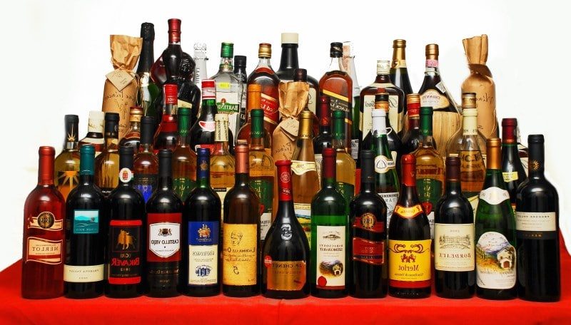 калорийность алкоголя таблица
