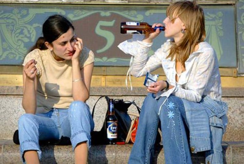 распитие спиртных напитков в общественных местах статья