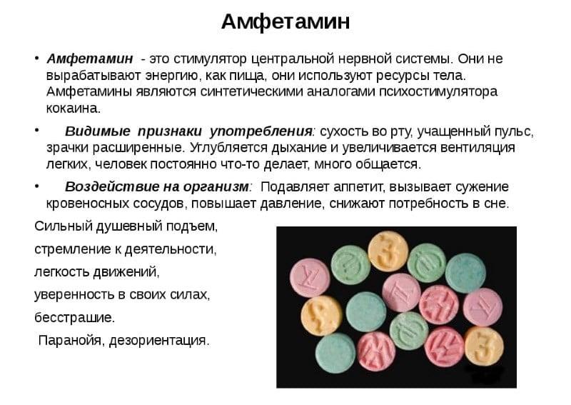 сколько держится амфетамин в крови