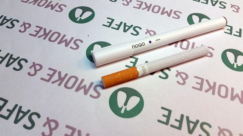 чем отличается сигарета от электронной сигареты