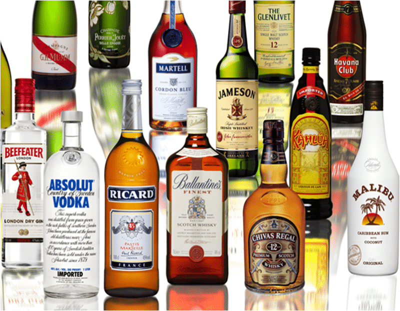 алкогольные напитки список названий