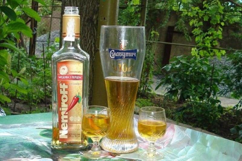 что вреднее пиво или водка