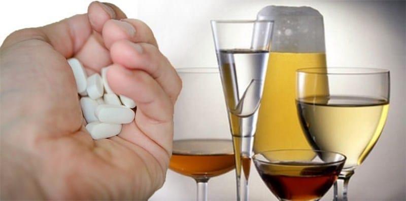 совместимость алкоголя и Нимесила