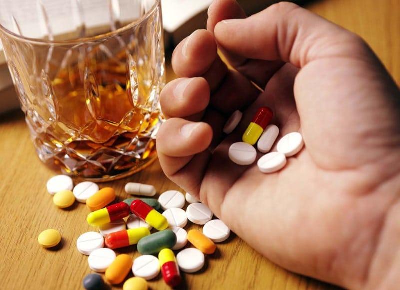алкоголь и Кагоцел совместимость