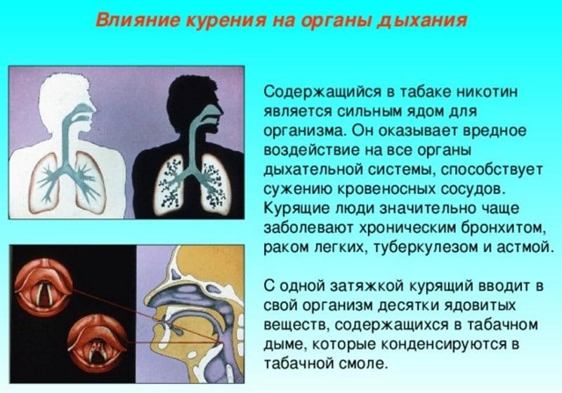 болезнь легких курильщиков