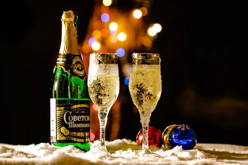 через сколько выветривается шампанское из организма