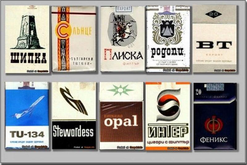 сигареты СССР фото пачек