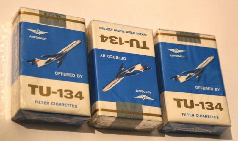 старые сигареты