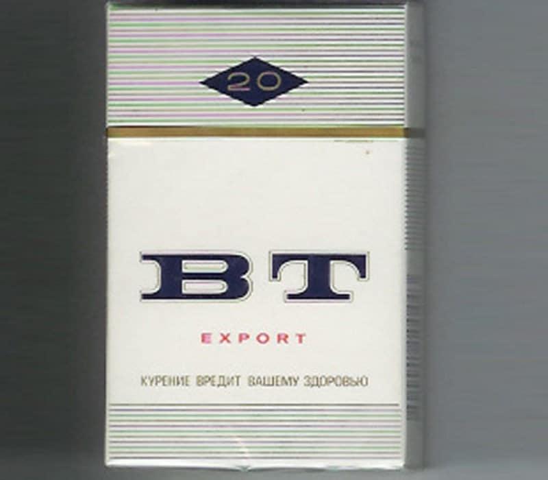 популярные сигареты времен СССР