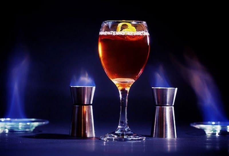 сколько градусов напиток Блейзер