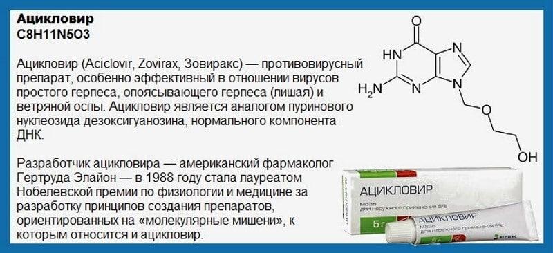 взаимодействие Ацикловира с алкоголем