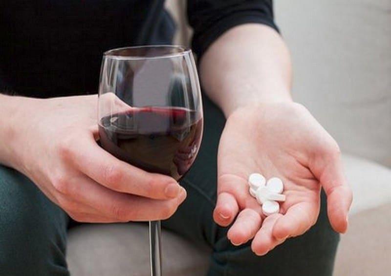 алкоголь и Вильпрафен совместимость