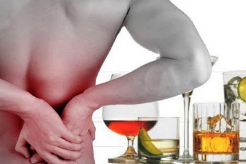 болят почки после алкоголя что делать