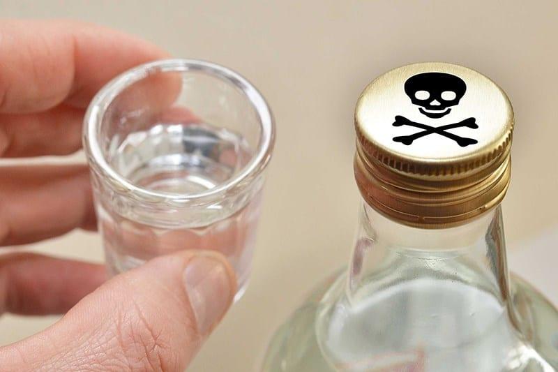 отравление водкой симптомы