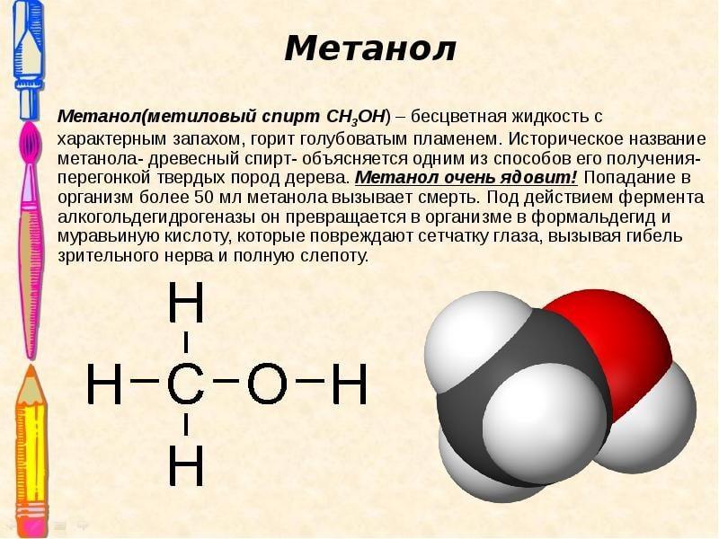 формула этанола