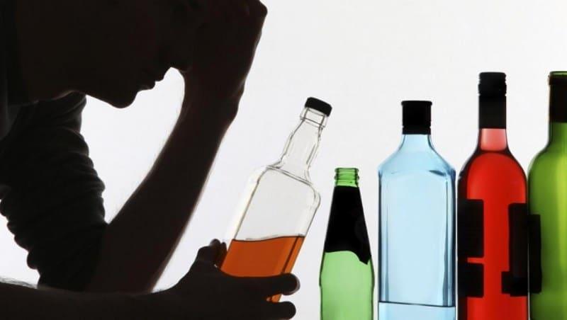 Печень и мозг при алкоголизме