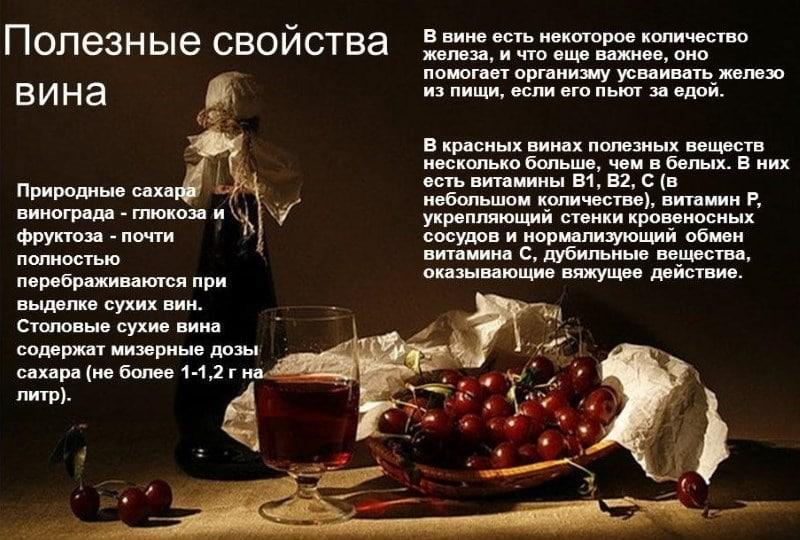 как пить вино для пользы