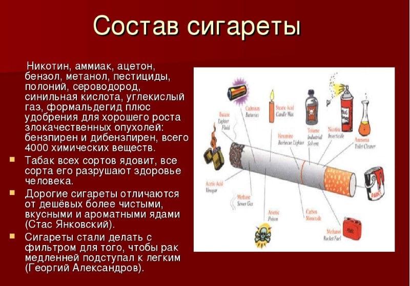 вес пачки сигарет