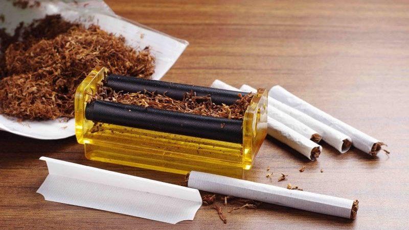 сколько табака в обычной сигарете
