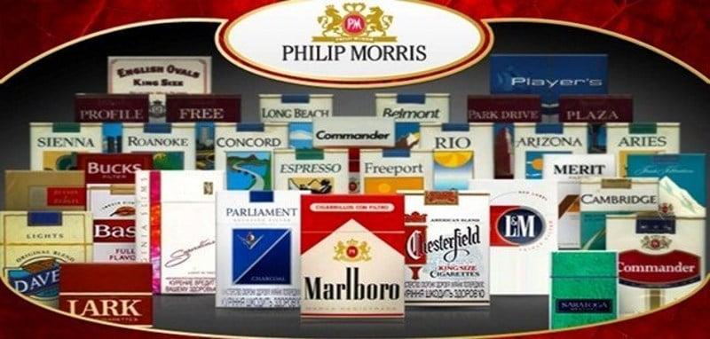 список табачных фабрик в России