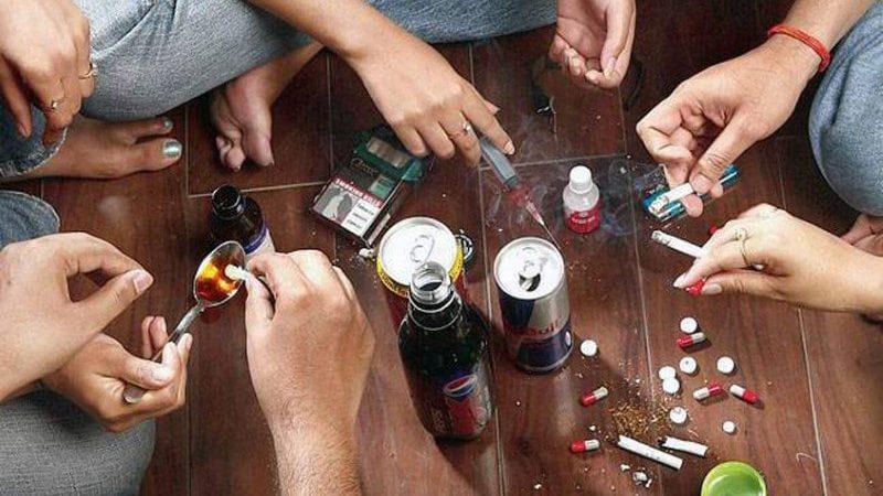 внешние признаки наркотического опьянения