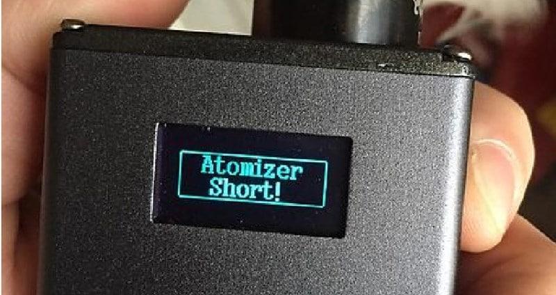 atomizer short что значит в электронной сигарете