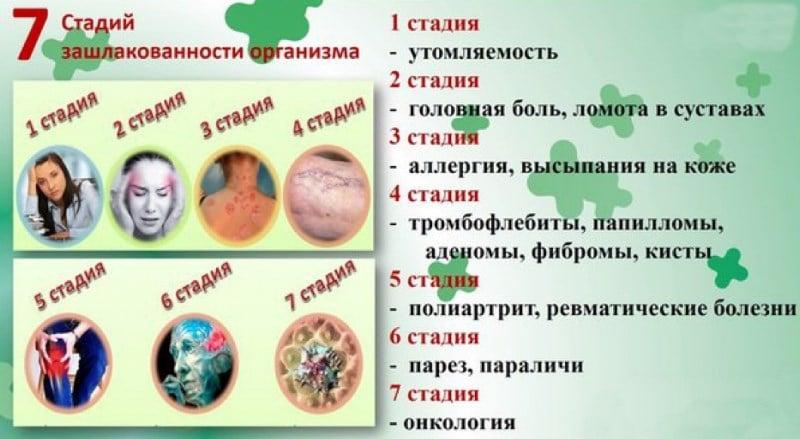 как вывести токсины из организма народными средствами