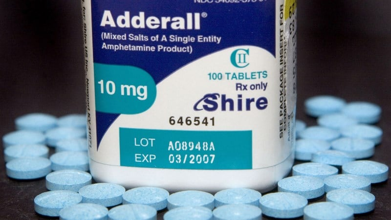Adderall generic mg