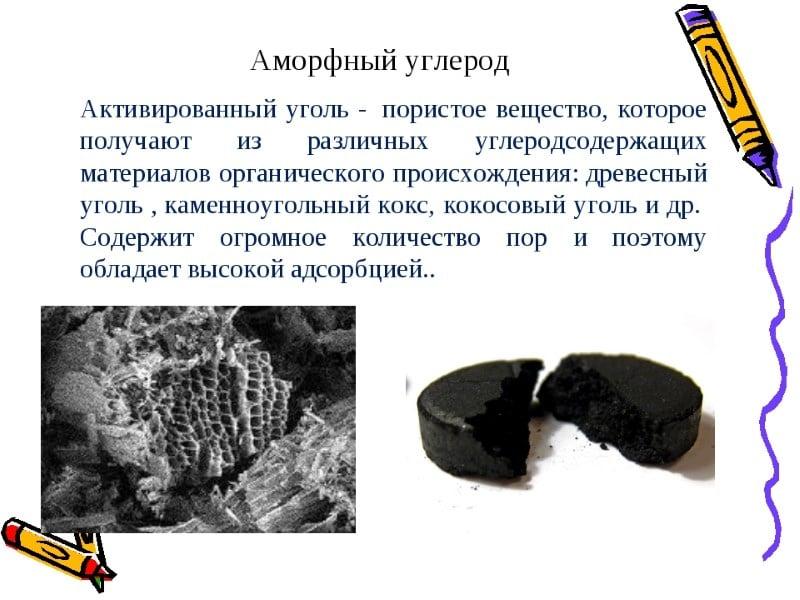механизм действия активированного угля на организм человека