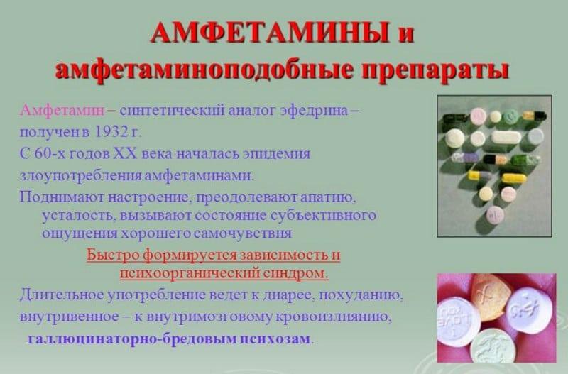 амфитаминовая передозировка симптомы
