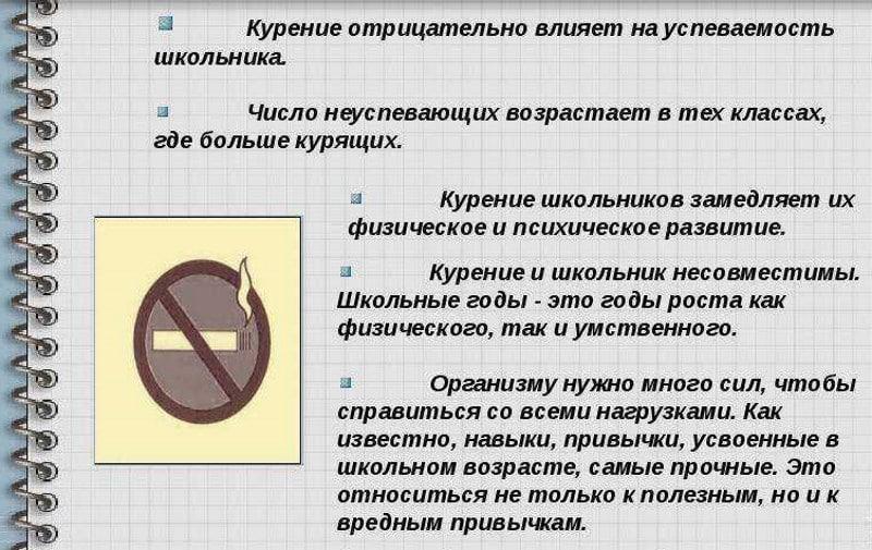 тестирование на курение
