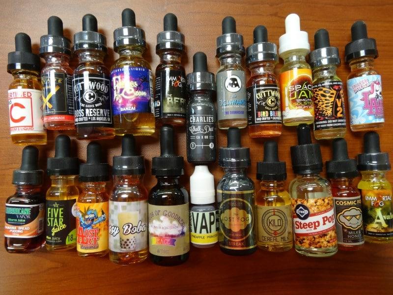 цена жидкости для электронных сигарет