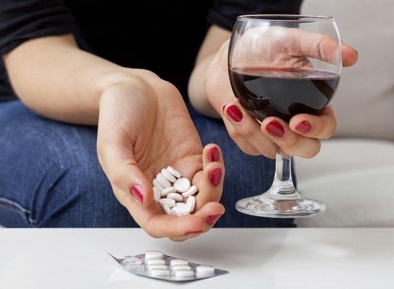 алкоголь и Капотен совместимость