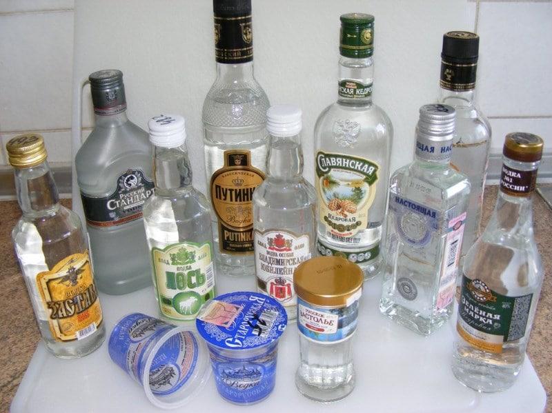 отличие виски от водки