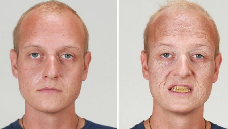 Лицо курильщика до и после: фото