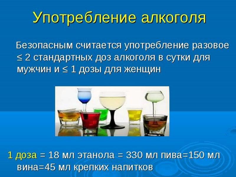 безопасная доза пива