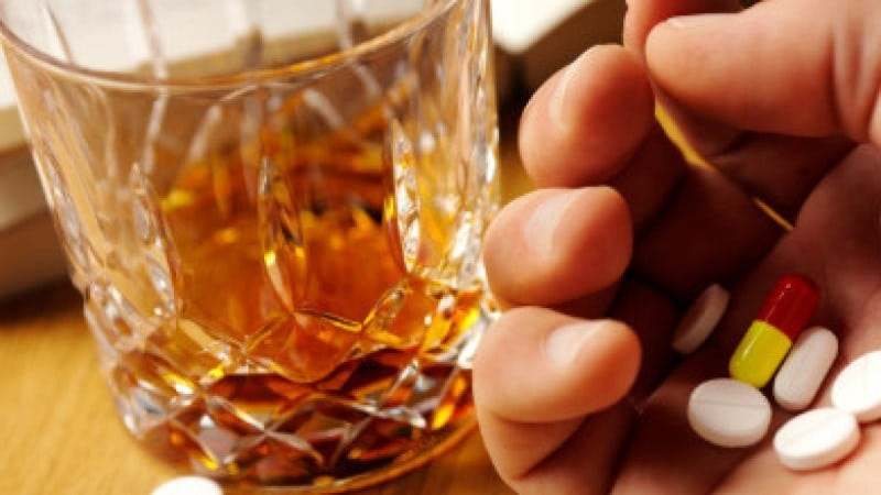 Амитриптилин и алкоголь последствия